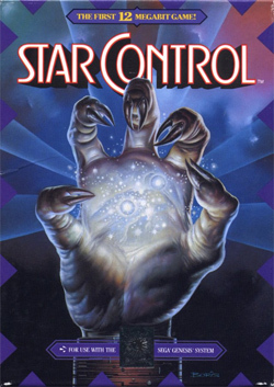 Star Control Genesis Box Art