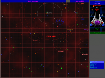 The starmap shows smaller circles, making it easier to find aliens in their respective spheres of influences.