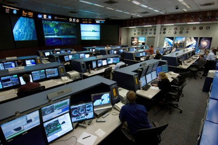 Flight Control Room of Houston's Mission Control Center (2006)